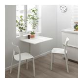 Стол откидной стенного крепежа Норберг, 74х60 см. Икеа (Ikea)