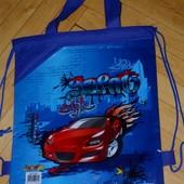 Рюкзак - сумка для сменной одежды для игрушек в песочницу и на пляж , в сад