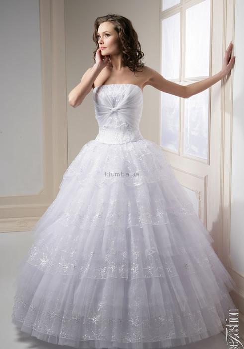 Свадебное платье - w-106 ,46-48 размер. фото №1