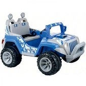 Детский электромобиль BT-Bос 0058  джип на р.у.