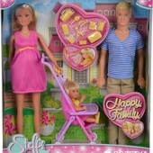Набор Счастливая семья Steffi Love Family Simba 5733200