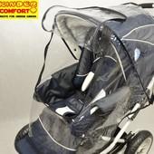 Дождевик на коляску на молнии универсальный Kinder Comfort (Германия)