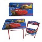 Детский столик со стульчиком складной Тачки (DT 19-11)