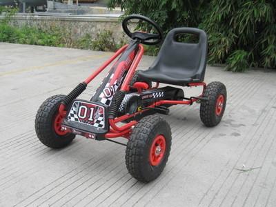 Детская педальная машина веломобиль карт а-15 фото №2