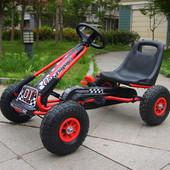 Детская педальная машина веломобиль Карт А-15