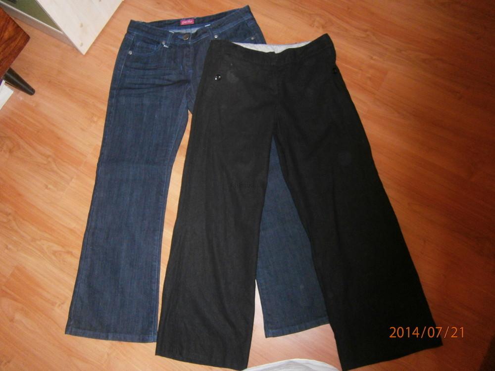 Женские джинсы и брюки, 10 евро размер, наш 42-44 р. фото №1