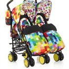 Прогулочные коляски для двойни Cosatto Supa Dupa Twin Stroller