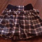 теплая юбка-бочонок для школьницы в идеальном состоянии на 2-4 класс