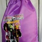 Сумка рюкзак для обуви или сменки , формы Монстер Хай Monster High