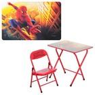 Детский складной столик со стульчиком Bambi DT 18-12 Spider Man
