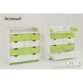 Комоды в детскую комнату. Комод Oris Colour 4 ящика. Разные цвета, Супер качество.