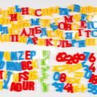 Набор магнитные буквы (рус/укр и англ алфавит), цифры, математические знаки