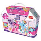 Пазл My Little Pony Гламур ( с блестками) 50 дет