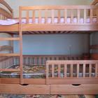 Детская двухъярусная кровать Карина-Люкс со всеми съемными бортиками раскладывается!