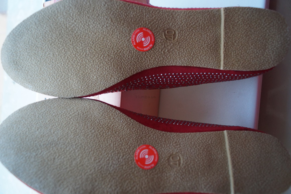 Туфли, мокасины, балетки новые женские красные размер 40 фото №5
