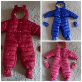 В наличии! Зимний теплющий комбинезон-трансформер  для Ваших деток! Размеры 80, 85, 90.