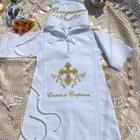 Крестильная рубашка, одежда на крещение, крестильный комплект, крестильная одежда