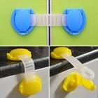 Защита -гибкий замок для ящиков, шкафа, унитаза, микроволновки и пр.