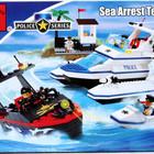 Конструктор для детей 117 Морская Полиция, Brick Брик