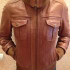 Кожанная куртка Stradivarius