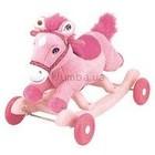 Лошадка-качалка ПОЮЩИЙ ПОНИ розовый