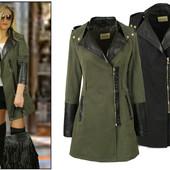 Парка женская весенняя,пальто на весну-осень ,новость
