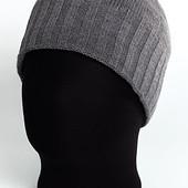 Классическая мужская шапка без отворота - 4 цвета