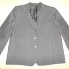 Классический черный пиджак, р-р L
