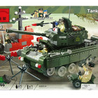 Конструктор детский Brick 823 Танк, Брик