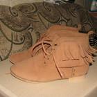 Оригинальные текстильные ботинки, 34размер, на 20-21,5 см ноги