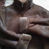 Продам мужскую искусственную дубленку, размер 56