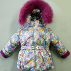Зимние комбинезоны для девочки Алиса  куртка+штаны  86 110 рост