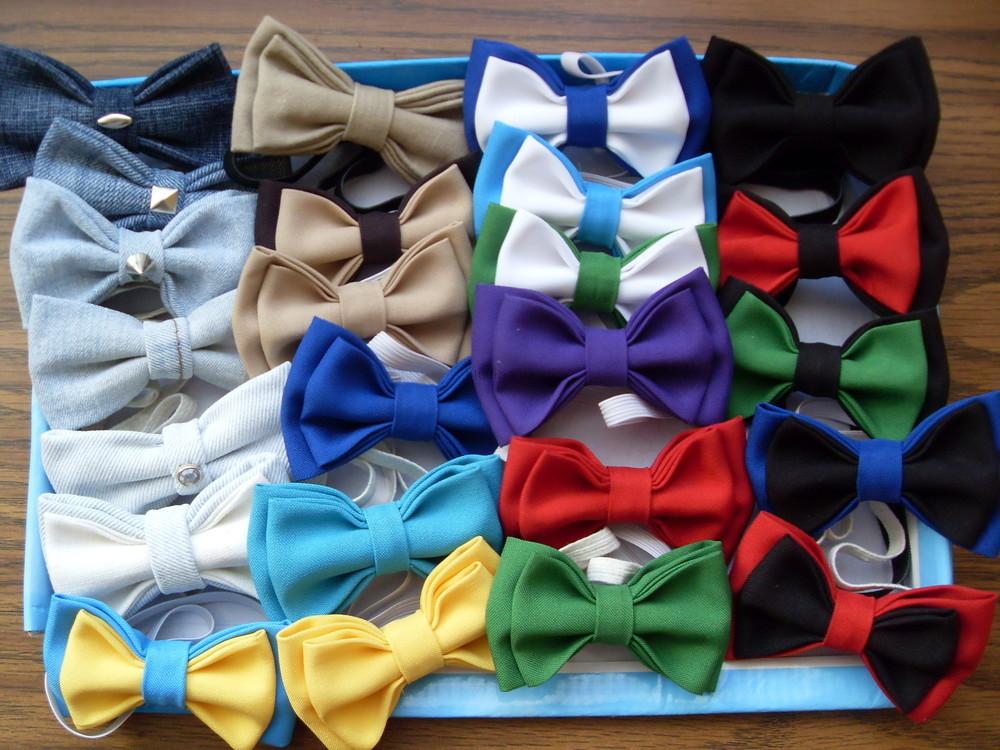 Бабочка галстук детский своими руками