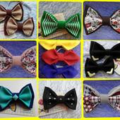 бабочка-галстук, подтяжки - маленькому красавчику:)