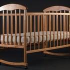 Кроватки деревянные ольха,ясень темная,светлая