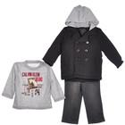 Пальто на мальчика 1-1.5 года (+джинсы+рубашка)