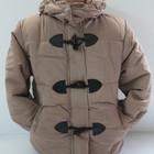 Теплая куртка со съемным капюшоном для девочек. Размер 80-110