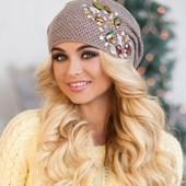 Модная шапка-колпак «Фламинго»