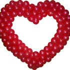 """украшения для свадьбы """"Сердца"""" из шаров"""