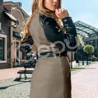 Пальто кашемировое, двубортное