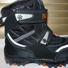 Термо ботинки тм Bi&Ki для мальчика цвет черный
