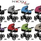 Детская универсальная   коляска Bebetto Nico Plus