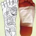 Детоксикационная маска для ног с турмалином, 2шт
