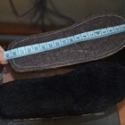 новые стельки, искусственный мех- стелька-18,5 см