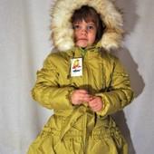 Красивые пальто для девочек. Украина.размеры 98