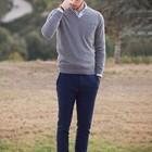 Новый свитер из шерсти мериноса Jos. A. Bank, р. XL