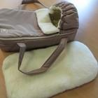 Люлька-переноска на меху для новорожденных - Новые