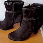ботинки Luciano Carvari,раз 40 по стельке 26см,замша,осень,удобная кол