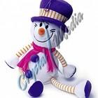 Снеговик Снежик,подарки на новый год, игрушка символ года 2015,подарки на новый год
