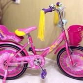 Детские двухколесные велосипеды Азимут Гел Azimut Girls для девочек с оптового склада
